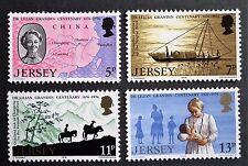 Jersey (1976) Dr Lilian M Grandin / Maps / Ships / Horses - Mint (MNH)