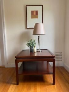 Vintage Mid Century Stow & Davis End Table Made in USA