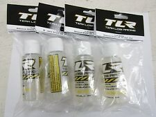 Team Losi Racing 74009 Silicone Shock Oil, 37.5 wt, 2oz Lab Tested Consistent x4