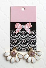 70 BOUTIQUE EARRING DISPLAY FASHION EARRINGS CARDS LACE & BOW HANG EARRING CARDS