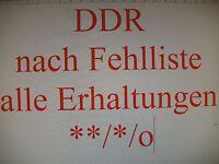 DDR GDR Eastern Germany 1949-1954 nach Michel **/*/o