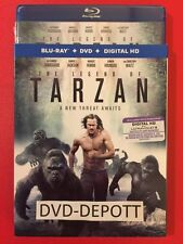 The Legend of Tarzan 2016 Blu-Ray/DVD/HD Brand New Free Shipping