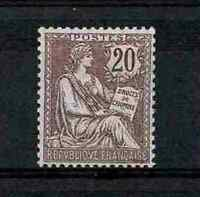 """FRANCE STAMP TIMBRE 126 """" MOUCHON 20c BRUN LILAS 1902 """" NEUF xx TB  A VOIR V392"""