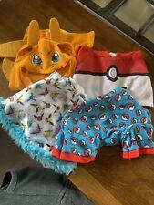 Build A Bear Pokemon Clothes Bundle