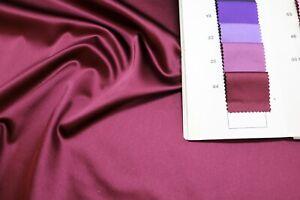 0,9 m WATUSSO COMO Fabric Stretch Satin Stoff (Color 44) Restposten