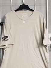 Grunt Style Mens T Shirt basic tan Regular Fit Cotton poly XL