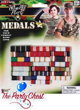 MILITARY COMBAT MEDAL RIBBONS Armed Forces Army Costume Medal Accessories 66226