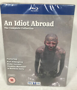 An Idiot Abroad Complete TV Series Collection 5 Discs Blu Ray Season 1 2 3 UK R2