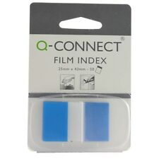 Blue 1 Inch Document Page Markers Adhesive Sticky Tabs Signature Index KF03632