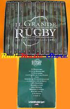 DVD IL GRANDE RUGBY The ultimate collection 1-14 LA GAZZETTA SPORT mc lp vhs cd