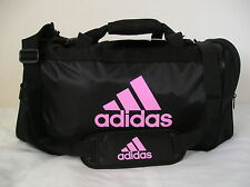 ~Adidas DEFENDER DUFFEL BAG Medium~Travel Carry-on overnight soccer Gym Tennis ~