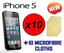 10x Hq Protector De Pantalla Transparente Tapa Protector De Pantalla Lcd Para Nuevo Apple Iphone 5 Iphone 5 5g