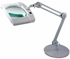 SUPER-WIDE LENS, Long Reach, Articulated, Desk Stand, LED Magnifier, 2.25X(5D)