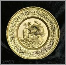 Brass Round Decorative Plaques & Signs
