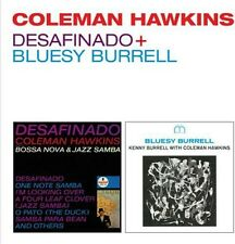 Coleman Hawkins - Desafinado / Bluesy Burrell [New CD] Rmst