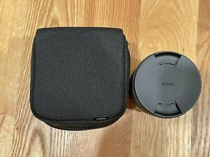 Sigma 35mm F1,2 DG DN Wide Angle Camera Lens - Sony E-mount
