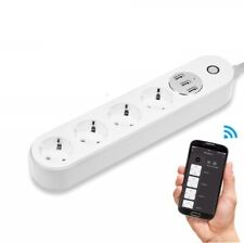 WiFi Outlets With USB Socket Smart Power Strip Plug Voice Control Timer Switch