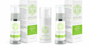 Amaira Skincare Intimate Skin Lightening - 2 Pack with Free Eye Serum Gift