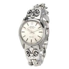 *Rolex Air-King Precision Sterling Silver Custom Rocker Fleur De ... Lot 2114128