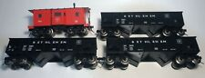Lionel O Gauge Bethlehem Steel Two-Bay Coal Hoppers and Caboose