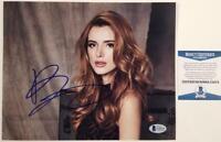 BELLA THORNE Signed 8x10 Photo Actress Midnight Sun Scream~ Beckett BAS COA