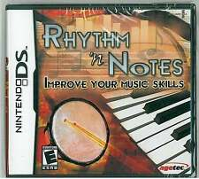 Rhythm 'n Notes Improve Your Music Skills (Nintendo DS, 2007) New and Sealed!