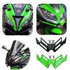 Aerodynamic Winglet For Kawasaki Ninja 250 300 MotoGP Style Windshield V.1-2
