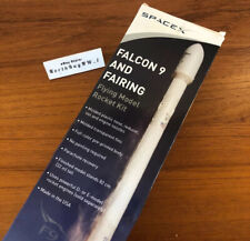 SPACE-X FALCON 9 AND FAIRING Flying Model Rocket Kit  ( SpaceX )  *RARE*