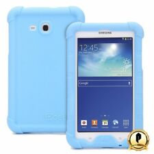 Poetic For Samsung Galaxy Tab 3 Lite 7.0 [Turtle Skin Series] Silicone Case Blue