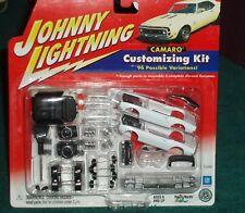 Johnny Lightning 1967 1968 1969 Chevy Camaro 2 in 1 Model Kit Set White