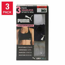 Puma Performance DryCell Seamless Sports Bra 3 Pack Variations - New in Box