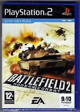 PS2 Battlefield 2 Modern Combat, UK Pal, Brand New & Sony Factory Sealed