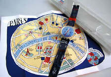 TITI PARISIEN! Swatch with Famous PARIS ART MAP By JACQUES BENOIT! NIB-RARE!