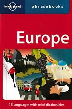 Lonely Planet Europe Phrasebook By Lonely Planet (Paperback, 2009)
