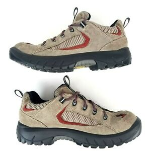 Lowa Hiking Trekking Shoes Brown Suede Lace Up Outdoor Sneakers Women's Size 9.5