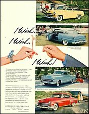 1953 Chrysler cars DeSoto Plymouth Dodge farm vintage 4 photo print Ad  adL54