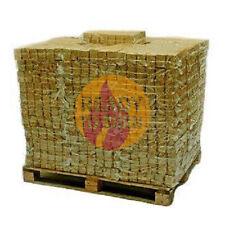HOTBLOCKS WOOD BRIQUETTES (960kg)  FULL PALLET  ECO-FRIENDLY FUEL STOVES FIRES
