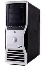 Dell Precision T7400, 4 Core, 3.20GHz, Xeon Processors (X2), 64GB RAM, 2TB HDD