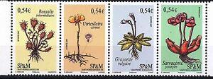 ST-Pierre et Miquelon - timbres Neufs Luxe - Flore, plantes vasculaires,(2007)