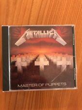 Metallica - Master Of Puppets 24 Karat Gold Cd