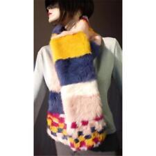 Mehrfarbige Damen-Schals & -Tücher mit Pelz