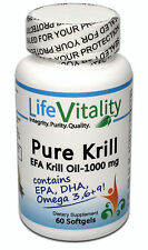PureKrill EFA Krill Oil, KriaXanthin, Heart, Cardiovascular, & Mental Health