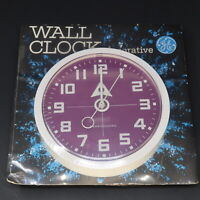 Vintage GE Mid-century Space Age Wall Clock Model 2171 New Sealed