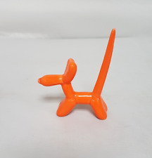 Ladies Orange Balloon Dog Ring Display Holder Jewellery Organizer Novelty Stand