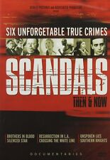 Scandals - Then & Now  (DVD 2 disc) documentaries NEW