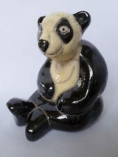 Grandes Hechos A Mano Raku Cerámica Oso Panda Adorno