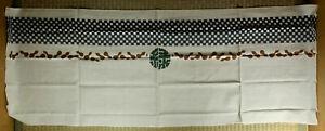 Cotton Tenugui / Japanese Bandana / Neighborhood Association / Vintage