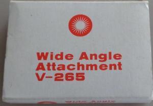 Vintage Wide Angle Attachment V-265 - GDC - GREAT FLASH DIFFUSER - VIVITAR