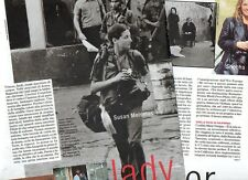SP84 Clipping-Ritaglio 1999 Susan Meiselas Lady reporter