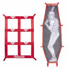 GoSports Batter Target & Strike Zone Baseball & Softball Pitching Kit (Open Box)